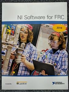 New National Instruments Ni Labview 2018 Dvd 780004 35 Sealed Software For Frc
