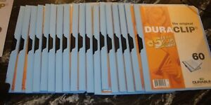 Durable Duraclip Assorted Report Clip Folders Letter Size Qty 27 Total