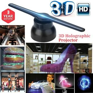 3d Holographic Projector Hologram Player Display Fan Sign Advertising Rgb0805led