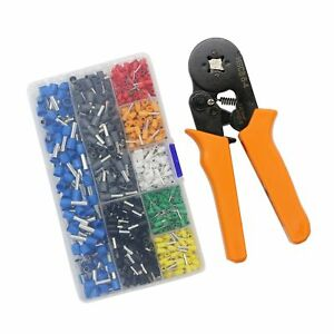 Lepohome Crimp Tool Kit Insulated Wire Terminals And Connectors Ass No Tax