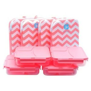 Chevron Lunch Containers In A Pack Of 4