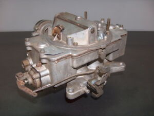 1962 63 Ford Thunderbird Autolite 4100 4 Bbl Carburetor C2sf_b Motorcraft Carb