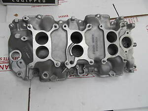 1967 Corvette New 3x2 Intake Manifold 2370 Gm 427 435 Hp L71 Tri Power 3894374