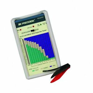 B k Precision 881 In circuit Esr And Dc Resistance Capacitor Tester