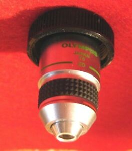 Olympus Lwdc A 20 Pl Microscope Objective 10x 0 40 Na 160 1 2 Phase Contrast