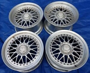 Racing Hart Zr Mesh 3 Piece Old School Jdm 17x9 5 8 Wheels 5x114 3 Nissan 300zx