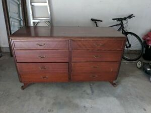 Antique Rway Dresser 8 Drawers