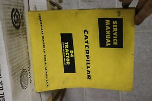 Caterpillar Cat D4 Tractor Service Manual
