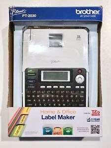 New Brother P touch Professional Deluxe Desktop Label Maker Pt 2030