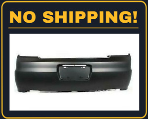 New Rear Bumper Cover For Honda Accord Coupe 2001 2002 Ho1100198