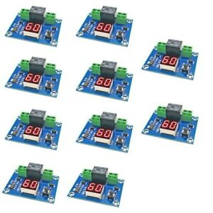 10x Dc 12v Digital Timer Switch Countdown Timer Module Automatic Controller Lot