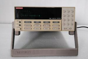 Keithley Used 7001 Ieee 488 Switch System Gpib Adaptor