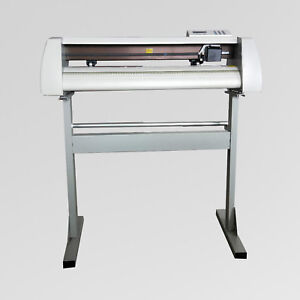 24 Gjd Cutting Plotter Vinyl Cutter Gjd 720 With Artcut2009 Software New Brand