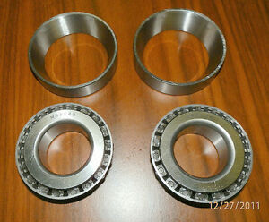 9 Inch Ford Pinion Bearings And Races Two Each M88048 M88010