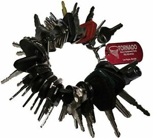 Tornado Original Heavy Equipment Parts 42 Keys Construction Ignition Master Set