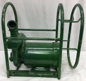 Barnes Electric Centrifugal Water Pump 2 2 hp 3 Phase 65 Gpm Military