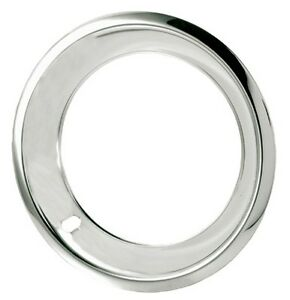 15 X 7 Wheel Beauty Trim Rings 15x7 Chrome Stainless Chevy Rally Gmc Gm Smooth