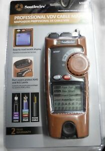 Southwire Professional Vdv Cable Mapper M300p New
