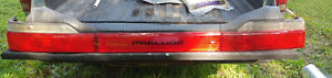 1990 1991 Honda Prelude Complete Rear Tail Lights Light Assemby 90 91
