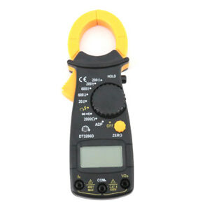 Dt3266d Ac dc Current Amperemeter Digital Clamp Meter