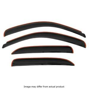 Avs Rainguards For 2019 Dodge Ram 1500 Crew Cab 4pc Smoked In channel 194806
