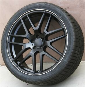 22 22x10 Wheels Tires Pkg Mercedes Benz Gl Class Gl450 Ml350 Ml500 Ml550 Gl350