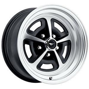 Legendary Wheel Co Lw50 50754a Mustang Magnum 500 Alloy Wheel 15 x7 Gloss Blac