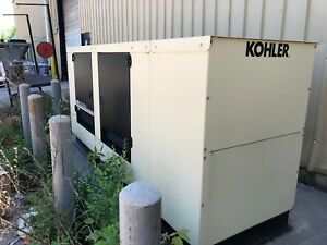 Kohler 100 kw Natural Gas Emergency Generator Mdl 100rezgd