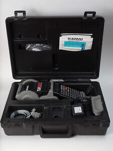 Brady Tls2200 Thermal Labelling System W Case Serial Cable Charger