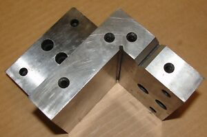 Double L Angle Plate 4 X 4 X 6