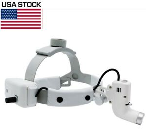 Dental Surgical 5w Led Headlight Good Light Spot Ent Specific Headlamp White