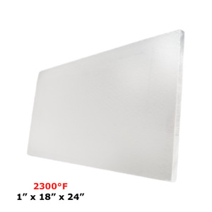 1 Refractory Ceramic Fiber Insulation Board 2300f 18 X 24