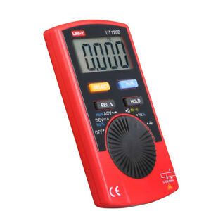 Uni t Ut120b Digital Pocket Size Multimeter Ac dc Voltage Resistance