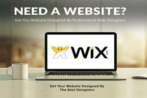 Wix Website Professional Design no Payments For The Domain