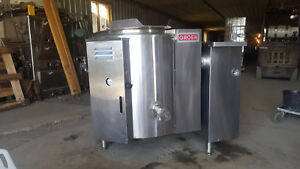 Groen Steam Jacketed Tilt Kettle Electric Commercial Kitchen Soup Dcee 40 Gallon