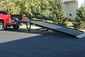 Dock Mobile Yard Ramp Loading leveling Portable Truck Ramp New Ideal Ramp