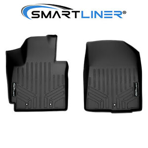 Maxliner All Weather Floor Mats 1st Row Liners Black For Kia Soul 2014 2019