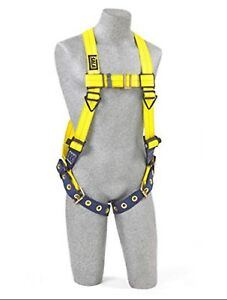 Dbi sala x large Delta No tangle Full Body vest Style Harness W side D rings