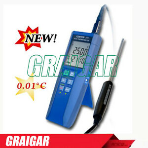 Center 376 Digital High Precision Thermometer Datalogging Function Measurement