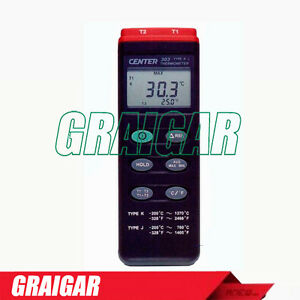 Center 303 Digital Temperature Meter Thermometer Auto Power Off Measurement