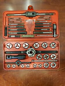 Snap on Tdm 117a Metric Tap And Die Set In Case C x