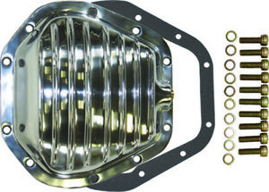 Dana 60 10 Bolt Front Finned Polished Aluminium Differential Cover Ford Super Sd