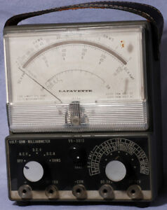Vintage Lafayette Volt ohm Milliammeter Model 99 5013 Meter Made In Japan