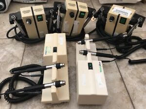 Welch Allyn Transformers Lot Of 5 Models 767 And 74710 Ophpthalmoscopes