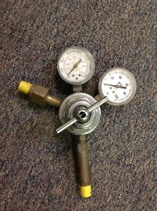 Oxweld Acetylene R 27 Regulator 86a3 R27cf580 Tested Works Good