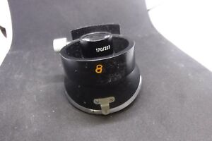 Leitz Wetzlar Ortholux 4 Place Microscope Nosepiece 1 25x W 170 223 Turret Parts