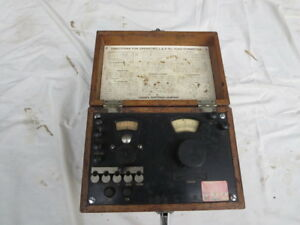 Leeds And Northrup Model 4282 Ohm Meter Vintage Wheatstone Bridge