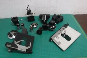 Small Lot Of Carl Zeiss Microscope Parts Accessories
