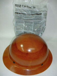 New Msa 475407 Natural Tan Skullgard Hard Hat W Fas trac Iii Suspension Safety