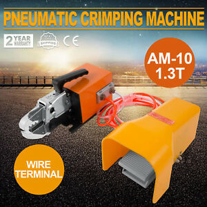 Pneumatic Air Powered Wire Terminal Crimping Machine Crimp Tool Am 10